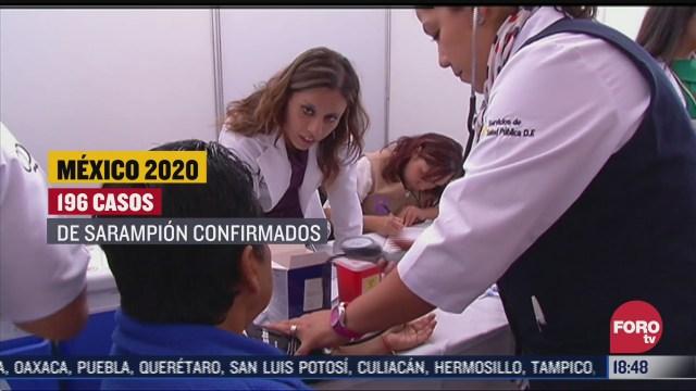 aumentan casos de sarampion en mexico