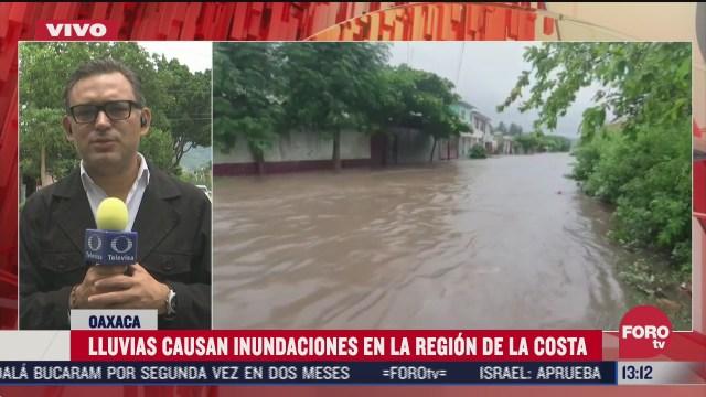 autoridades de oaxaca activan los equipos de respuesta inmediata por fuertes lluvias