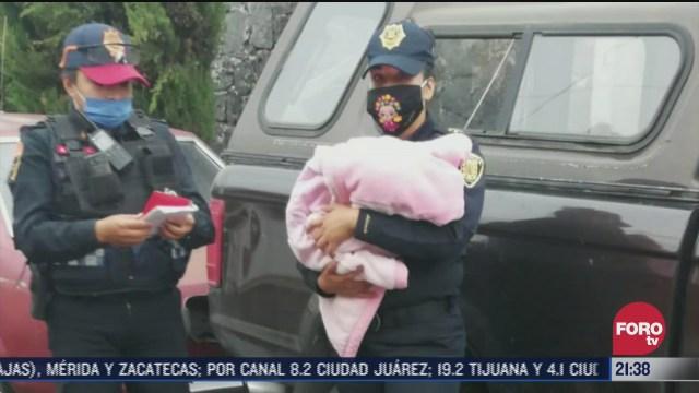 Policía de la CDMX busca a las personas que abandonaron a bebé en calles de Cuajimalpa CDMX