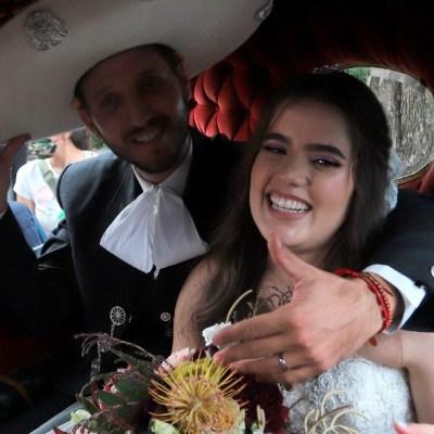 Camila, la hija de Alejandro Fernández, se casa al estilo charro, en Jalisco