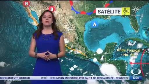 canal de baja presion provocara lluvias con granizadas en mexico