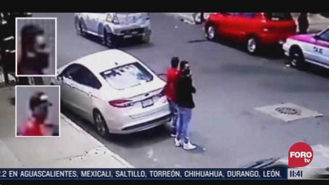 captan en video robos en la ciudad de mexico