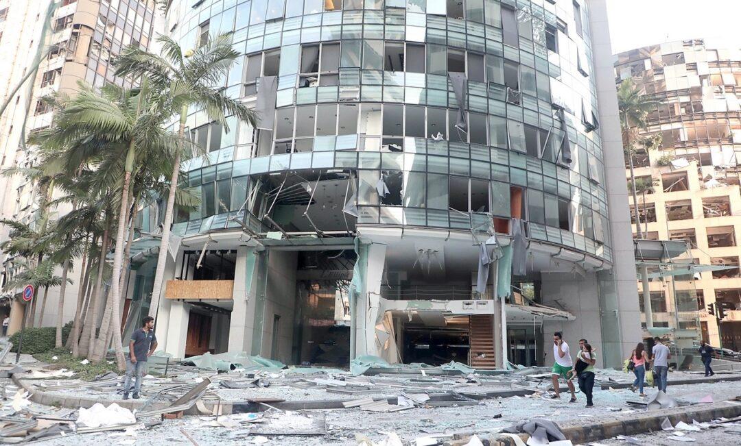 """Las fotografías más impresionantes de la explosión en Beirut"""""""