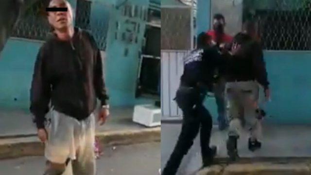 Mujer cacheteó a su ladrón en Ecatepec: Video