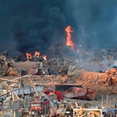 México apoyará con 100 mil dólares a Líbano tras la explosión