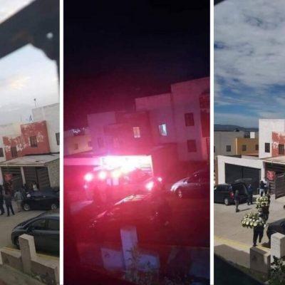 Viralizan en redes sociales 3 fotos de supuesta fiesta que terminó en funeral en México