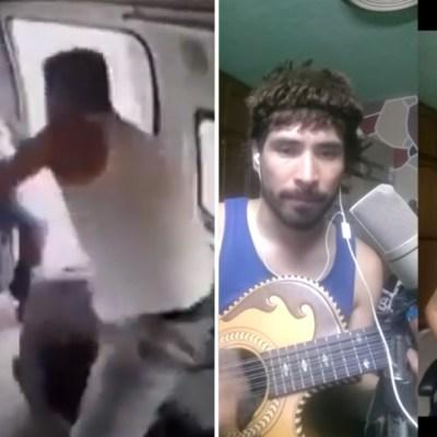 Crean cumbia del 'Ladrón de la combi' y redes sociales la hacen viral