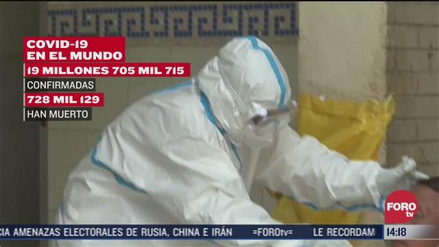 casos de coronavirus llegan a 19 7 millones