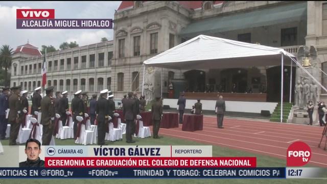 ceremonia de graduacion del colegio de defensa nacional