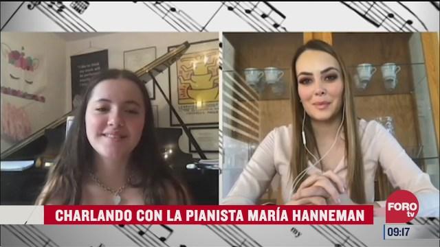 charlando con la pianista maria hanneman