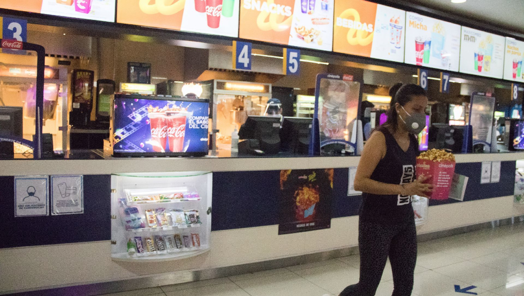 Reabrirán salas de Cine en el Estado de México