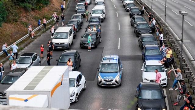 Ciudadano iraquí provoca serie de accidentes en Berlín