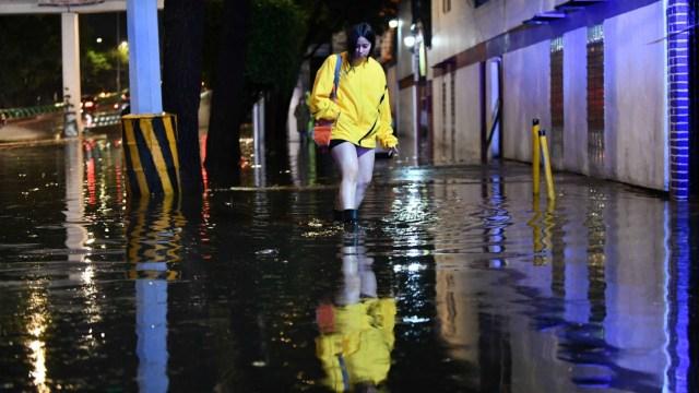 Lluvias dejan afectaciones en la CDMX