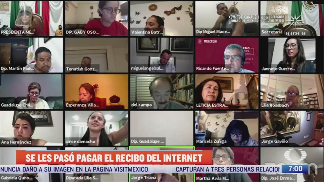 congreso de la cdmx se queda sin internet