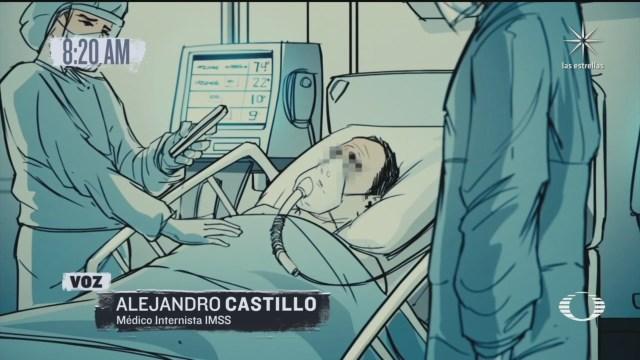testimonio de un medico que atiende a pacientes covid en terapia intensiva