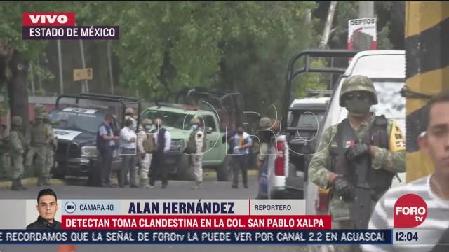 detectan toma clandestina en el estado de mexico