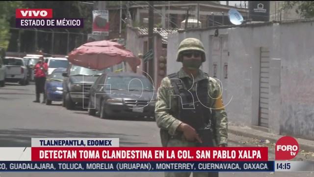 detectan toma clandestina en san pablo xalpa estado de mexico