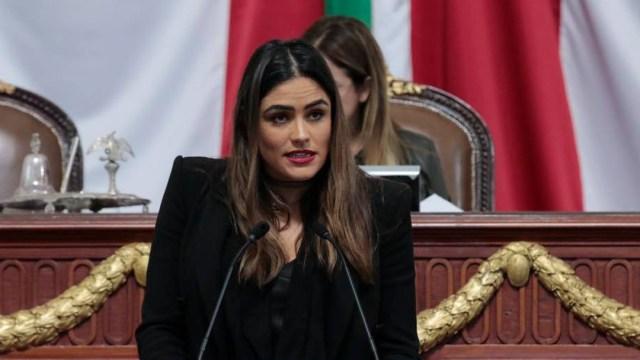 La diputada Alessandra Rojo de la Vega denunció este chat de Telegram en redes sociales