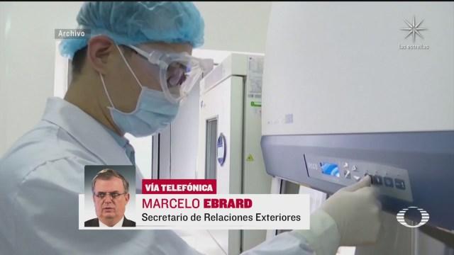 Ebrard anuncia que México tendrá vacuna contra COVID-19 en En Punto con Denise Maerker