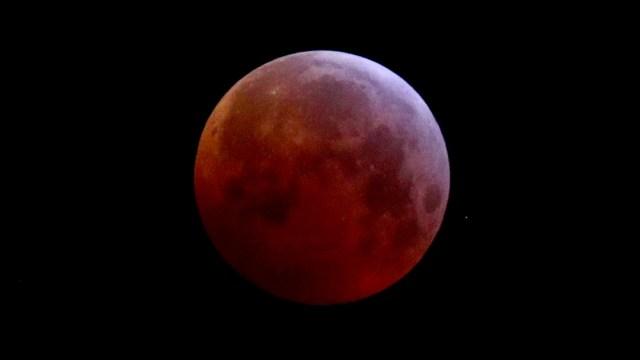 Eclipse de luna, imagen de archivo, telescopio Hubble