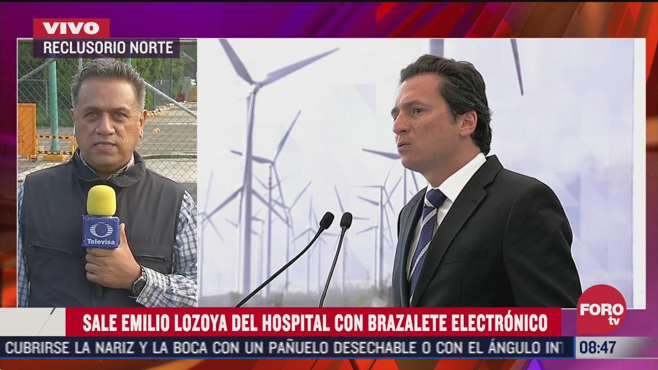FOTO: 1 de agosto 2020, emilio lozoya podria presentarse a firmar su libertad condicional este sabado