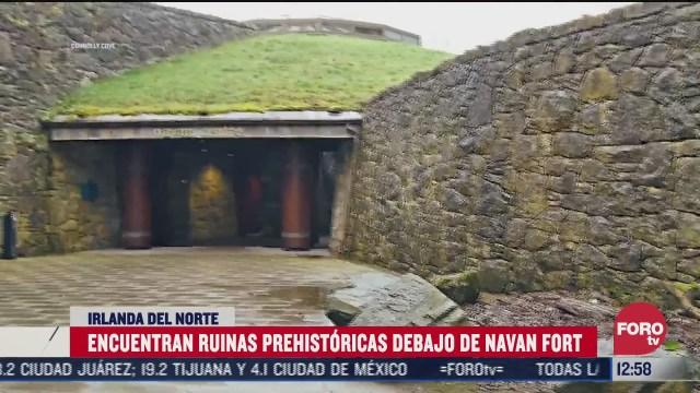 encuentran ruinas prehistoricas debajo de navan fort irlanda del norte