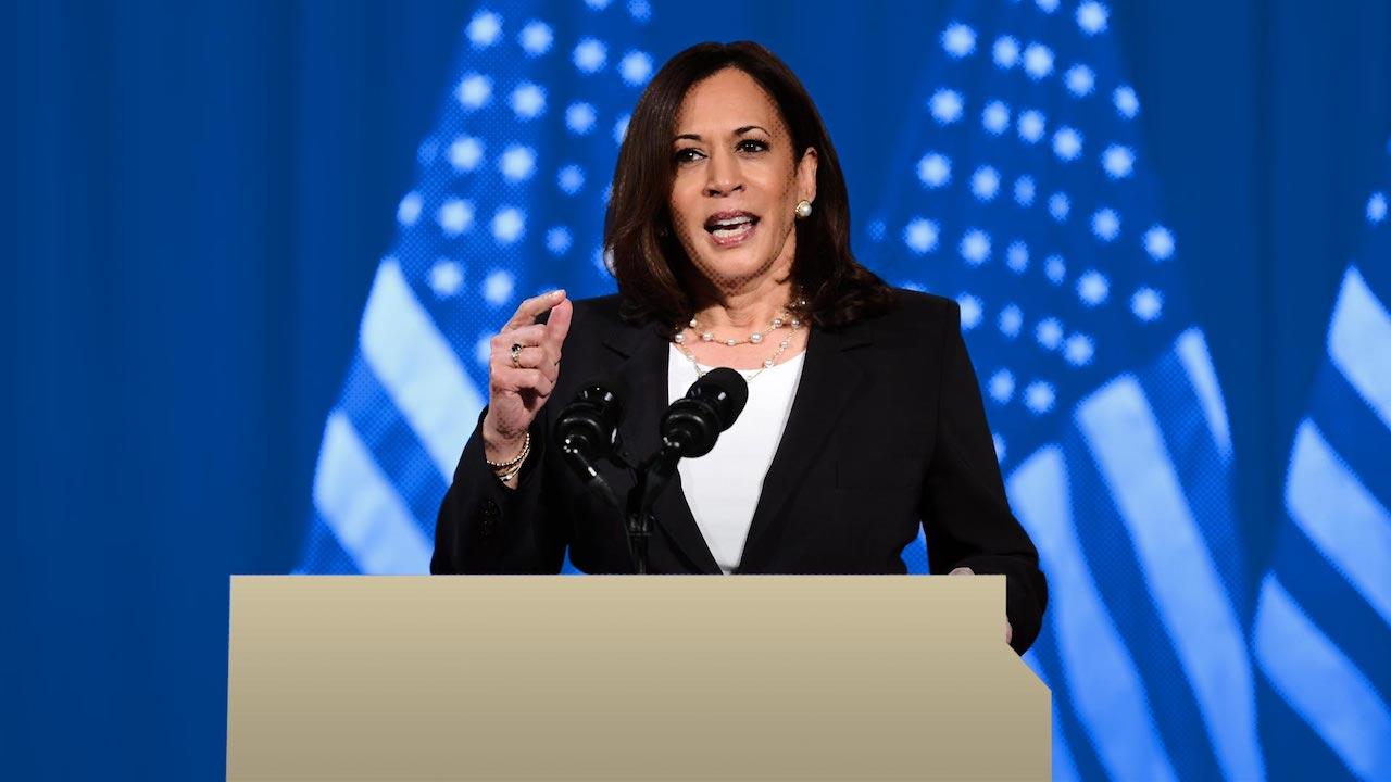 Kamala Harris Candidata Vicepresidente Estados Unidos