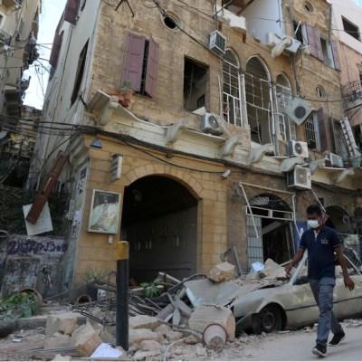 Explosión en Beirut suma 100 muertos y más de cuatro mil heridos