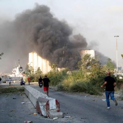 Explosiones en Beirut dejan al menos 50 muertos y 2 mil 500 heridos
