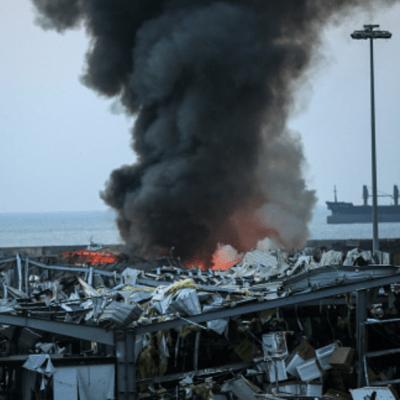 Nitrato de amonio causó explosión en puerto de Beirut