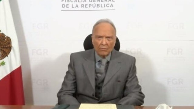 Fiscal general Alejandro Gertz Manero, manda mensaje por caso Lozoya
