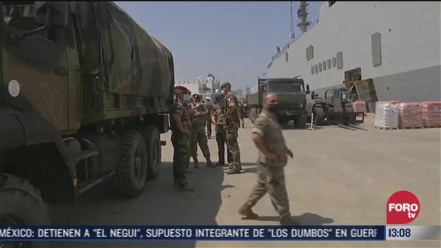 francia envia 700 soldados a libano
