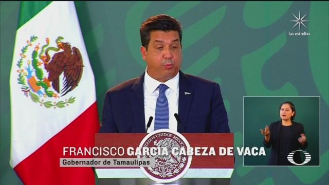 Francisco Javier García Cabeza de Vaca, gobernador de Tamaulipas, se deslinda de las acusaciones de Emilio Lozoya