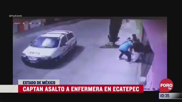 graban asalto a enfermera en ecatepec estado de mexico