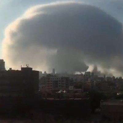 ¿Por qué la explosión de Beirut formó un hongo?
