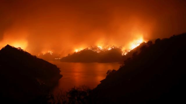 Incendio forestal en California, Estados Unidos, hoy