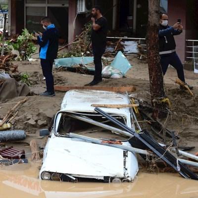 Inundaciones en Turquía por intensas lluvias dejan 4 muertos y 11 desaparecidos