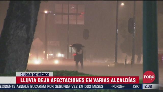 inundaciones y accidentes por lluvias en la cdmx