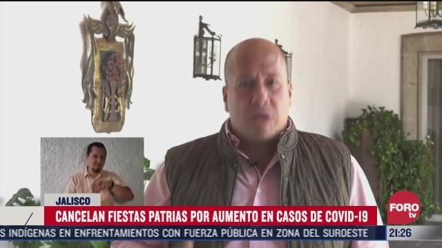 gobernador de Jalisco, Enrique Alfaro, canceló las fiestas de octubre, copa Jalisco y festejos patrios