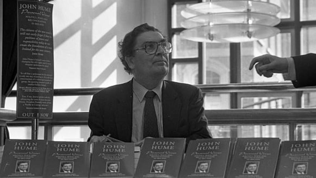 Muere John Hume, Premio Nobel de la Paz 1998