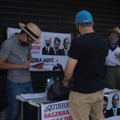 AMLO pedirá consulta para juzgar a expresidentes si no se juntan firmas