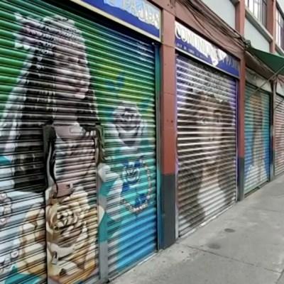 La 'Calle de las Novias' en CDMX luce desolada por pandemia de COVID-19