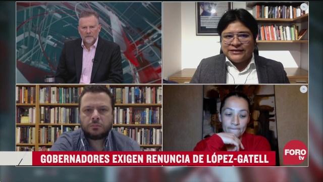 Leo Zuckermann, Paula Sofía Vázquez, Carlos Bravo Regidor y Gibrán Ramírez analizan la peticion de gobernaores a renuncia de Gatell