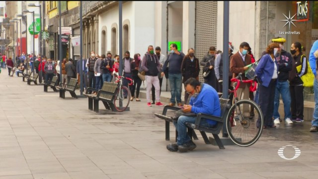 largas filas en cdmx por juicios de tipo familiar