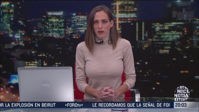 las noticias con ana francisca vega programa del 7 de agosto de