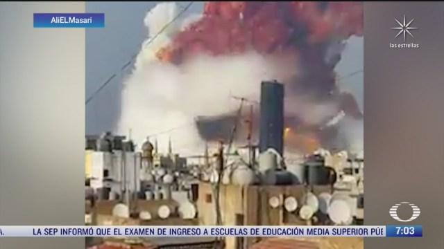 libano esta de luto por explosiones en beirut