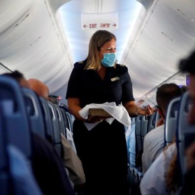 Llega a Abu Dabi el primer vuelo histórico entre Israel y Emiratos Árabes Unidos