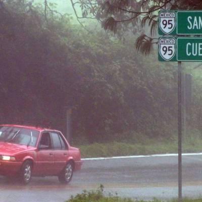 Conagua anticipa lluvias en prácticamente todo el país para la madrugada del lunes 31 de agosto