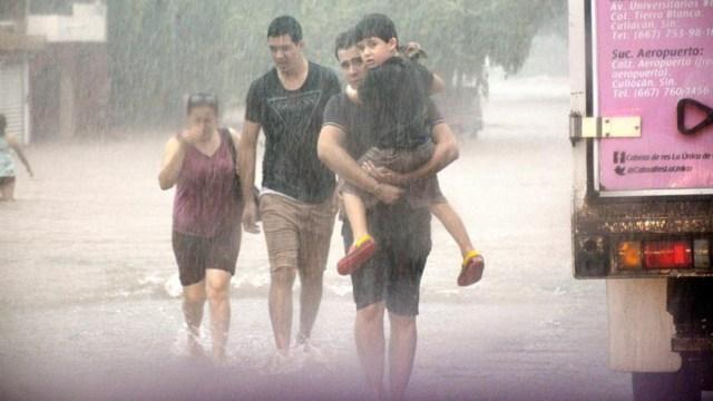Se pronostican lluvias torrenciales en varios estados de México. (Foto: EFE)