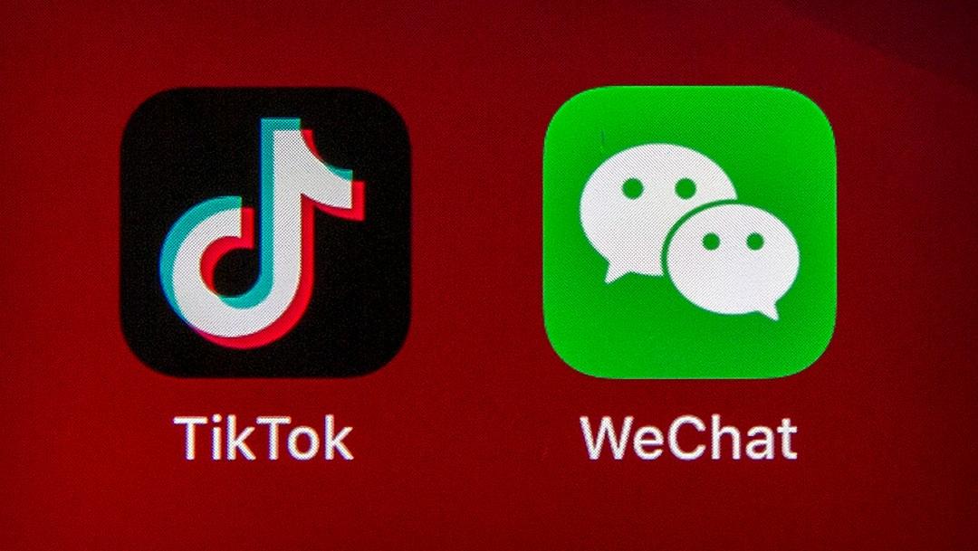 Logotipo de TikTok en celular